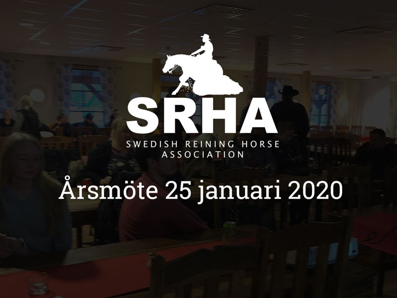 årsmöte SRHA 2020
